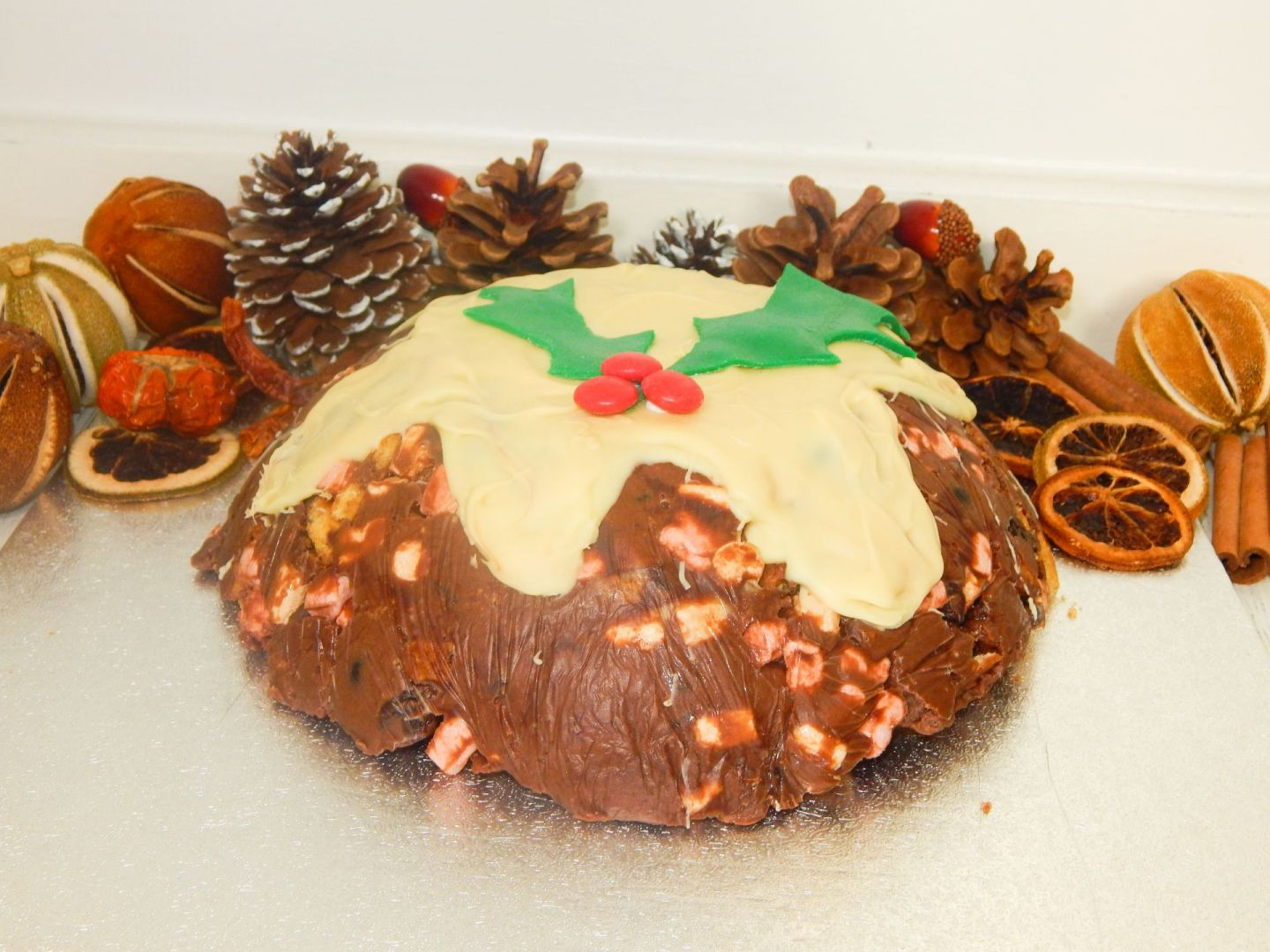 Rocky Road Christmas Pudding Recipe!