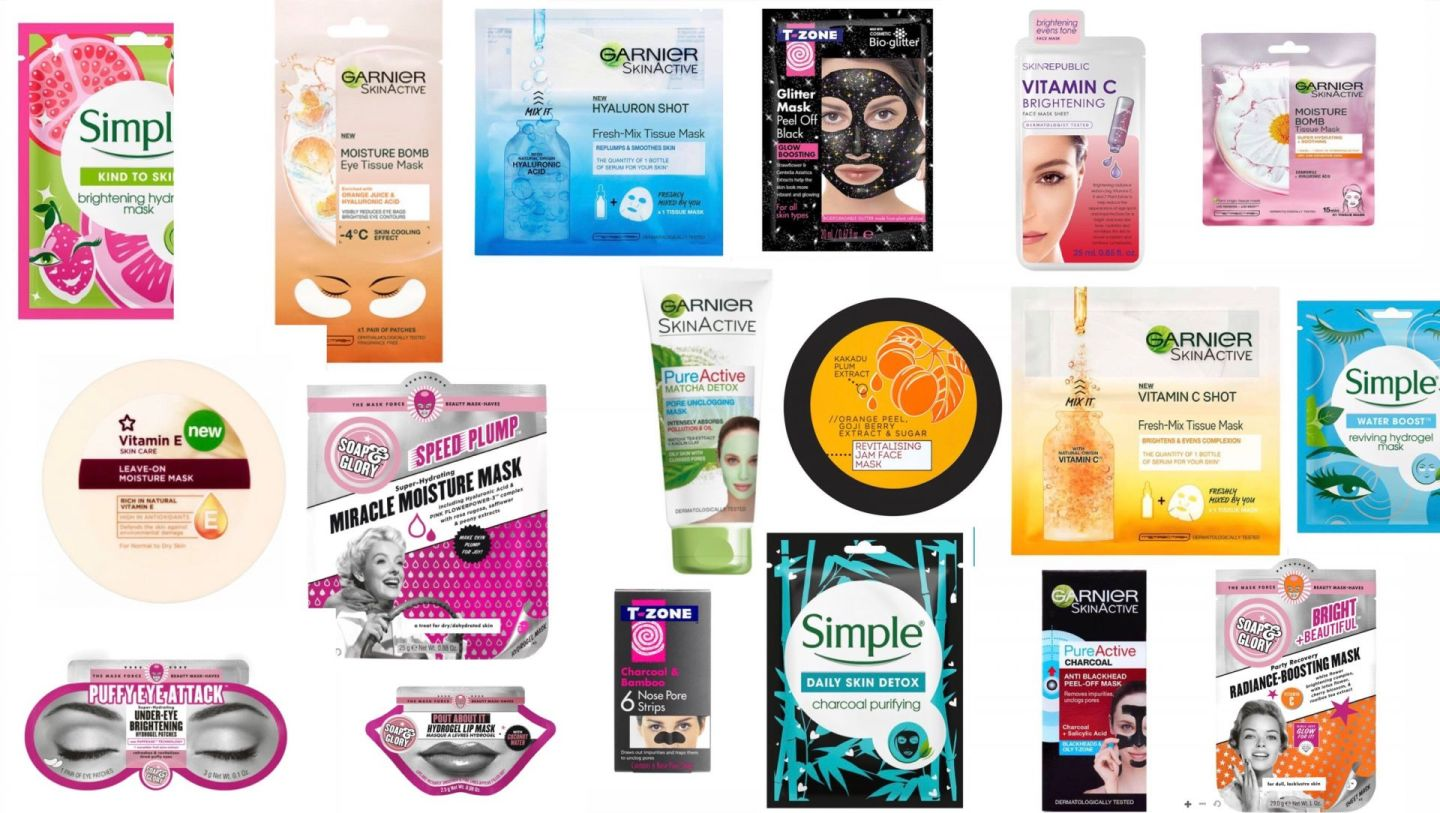 The Face Masks That NEED To Be On Your List This Christmas | All Under £5!