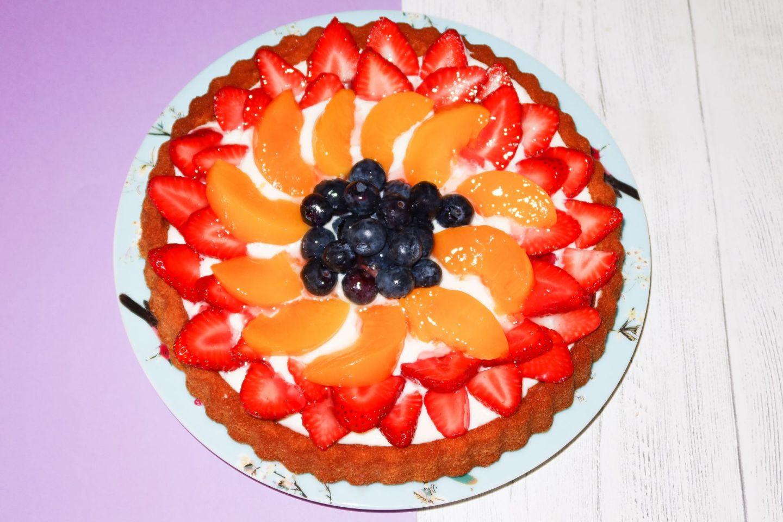 Fruit Flan Recipe!