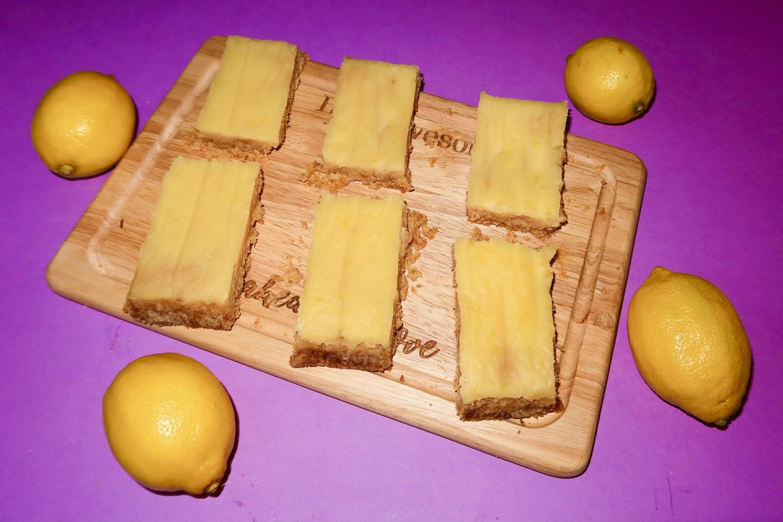 Diabetic Friendly Lemon Bars Recipe!