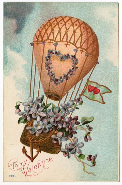 San Valentino biglietti dauguri vintage da stampare con