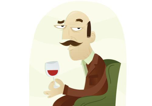 """""""L'unico modo per concludere una cena è con un piccolo bicchiere di Porto. Deve essere servito con un decanter, da sinistra ein senso orario""""."""