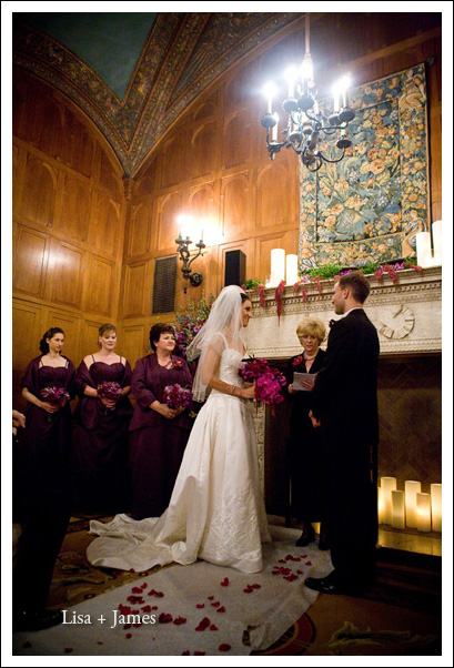 st francis wedding, Borgia Room
