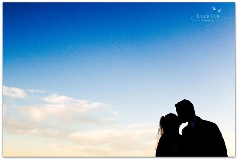 Presidio Wedding, Bride and Groom