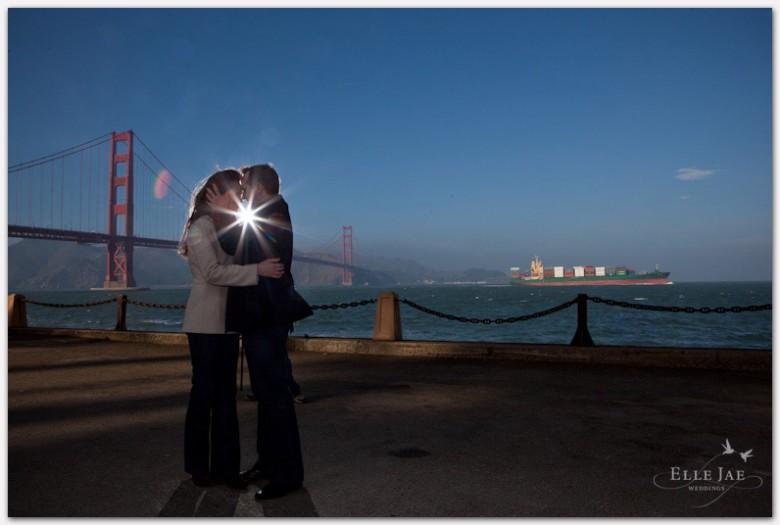 San Francisco Engagement Photo