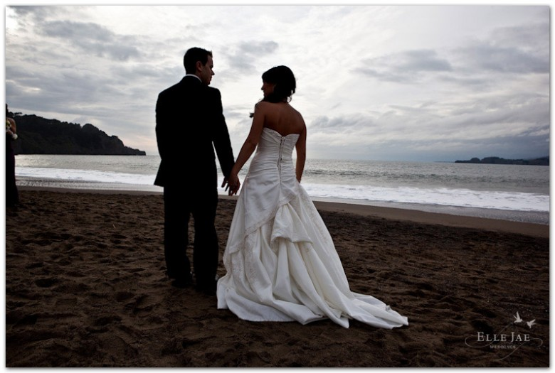Baker Beach Bride and Groom