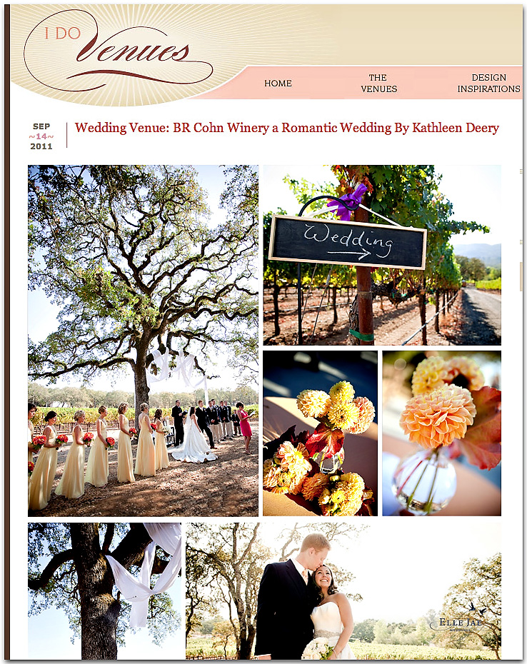 Yay! BR Cohn Featured on I Do Venues