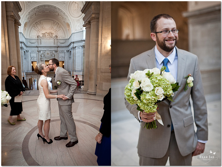 Rachel & Kevin, San Francisco City Hall Wedding