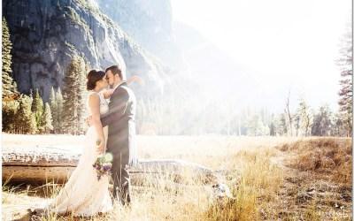 Kim & Sean's gorgeous Yosemite Wedding