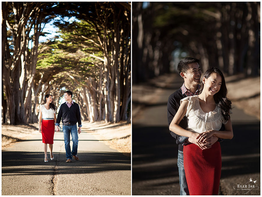 Mel & John, Pt Reyes Engagement Session