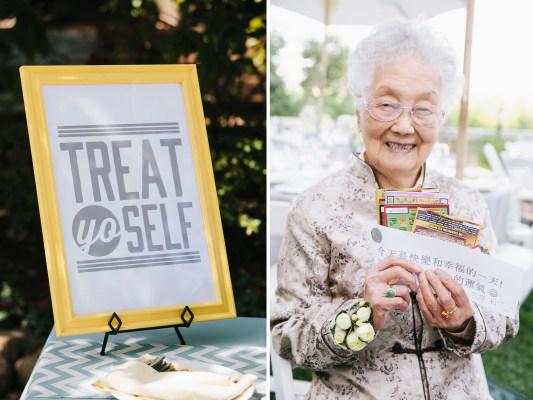 treat yo self wedding