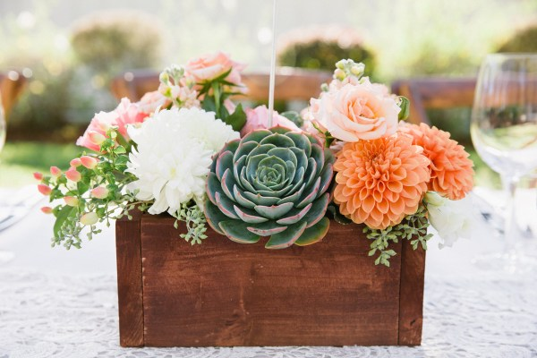 wedding succulent
