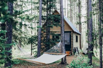 Accommodation with Hammock