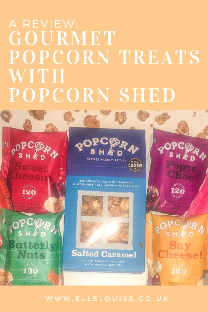 Gourmet Popcorn Treats with Popcorn Shed