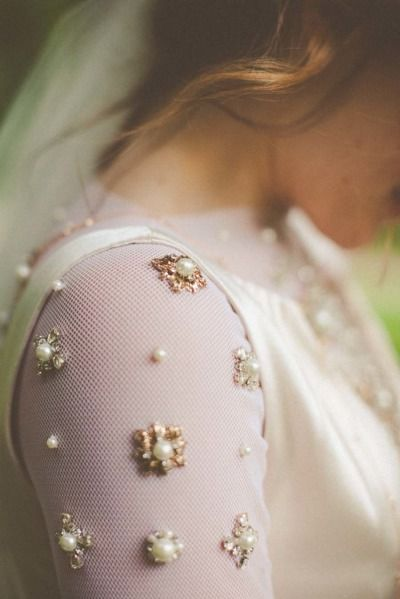 vintage-wedding-dress-with-pearl-embellishments-sleeves