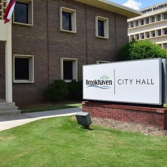Brookhaven GA city hall outdoors
