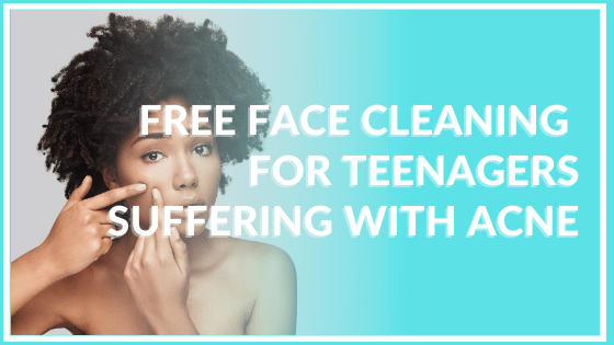 free face cleaning for teenagers suffering with acne atlanta medical spa