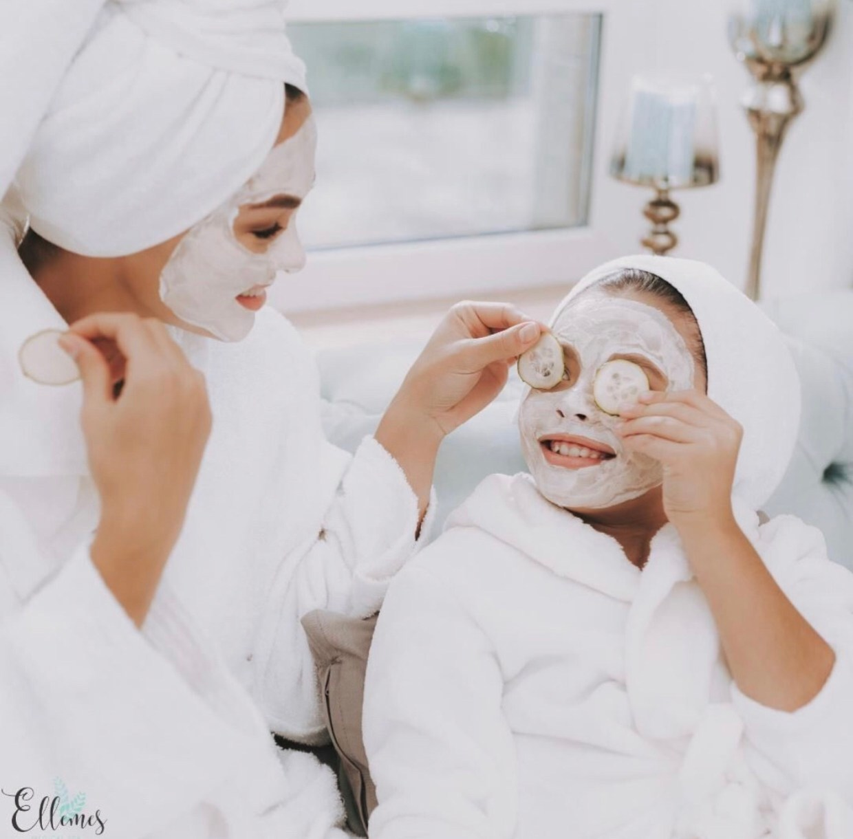 mother daughter spa day