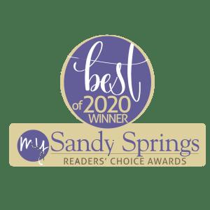 my sandy springs best med spa 2020 ribbon