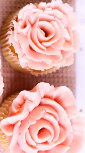 Cupcake en forme de rose technique