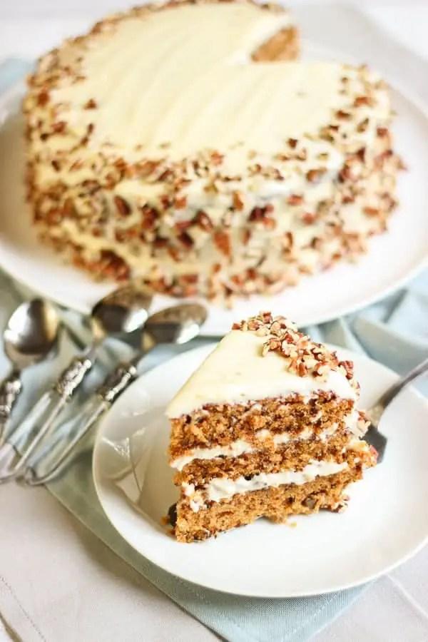 Le meilleur carrot cake du monde