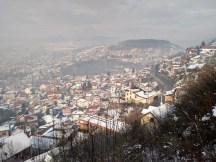 Smoggy Sarajevo