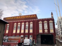 Local brewery in Sarajevo