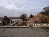 On top of the fortress in Belgrade, Serbia