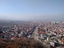 View of Prizren from the fortress