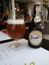 Local organic blonde ale in Athens