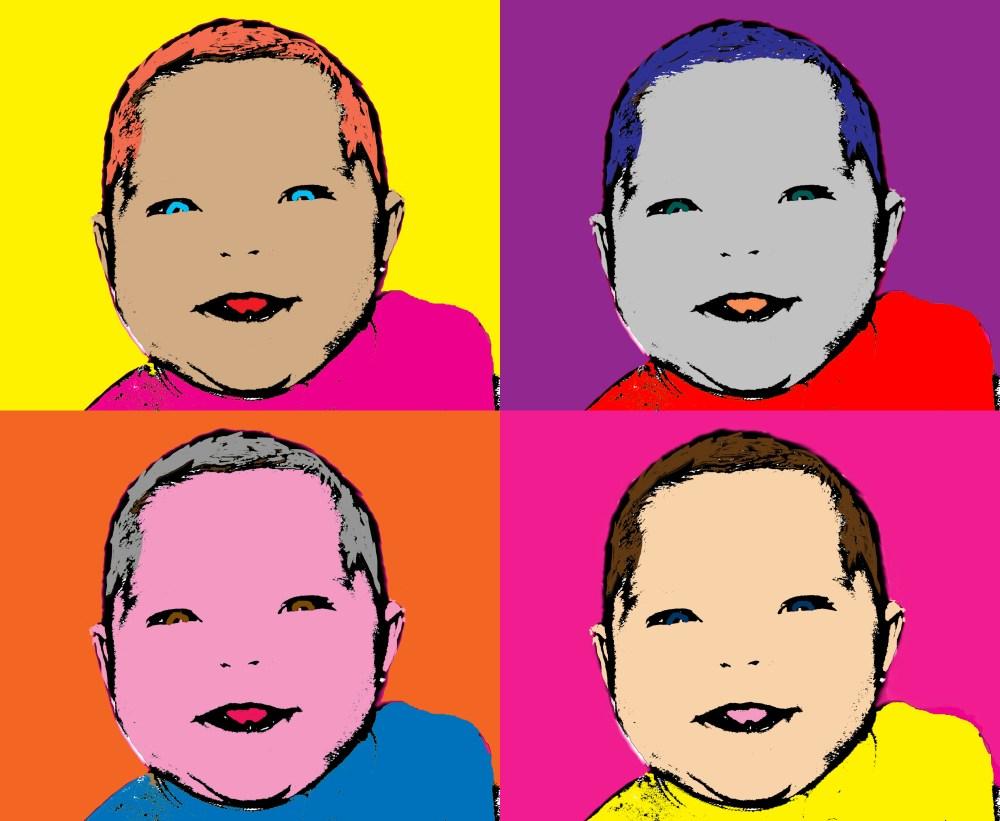 Project #4: Create Andy Warhol Pop Art (Photoshop CS5) (2/2)