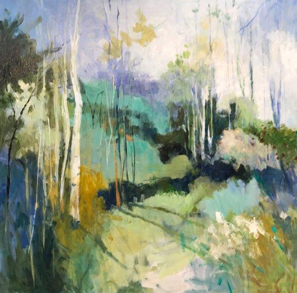 Abstract Art Limited Editions Ellen Diamond Coastal And European Landscape Paintings