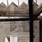 "News 2, The New York Times, 42""L x 31""W x 16""H, 2004"