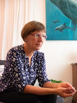 Samtale med lyttende Ellen Garne