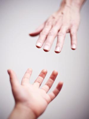 Ræk hånden ud