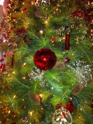 Classic Christmas colours at Festival of Trees