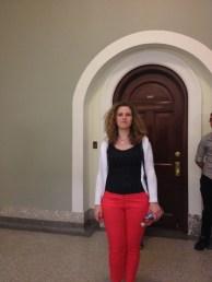 "The ""Magic Spot"" at the Alberta Legislature"