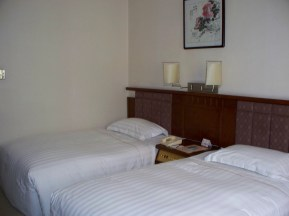 The hotel in Xi'An was comfortable.