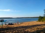 Beautiful beach at Whitney Lakes