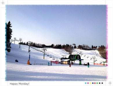 Snow Valley sunny
