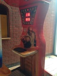 Arm wrestling simulator