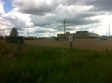 Bonnyville industrial scenery.