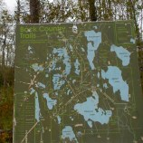 A very old trail map, McGuffin Lake