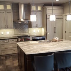 Renovated Kitchen Faucet Extension Hose Complete Condo Renovation Yields Gorgeous Results Ellen Kurtz The At Tile Was Ordered Through Prosource Cabinets