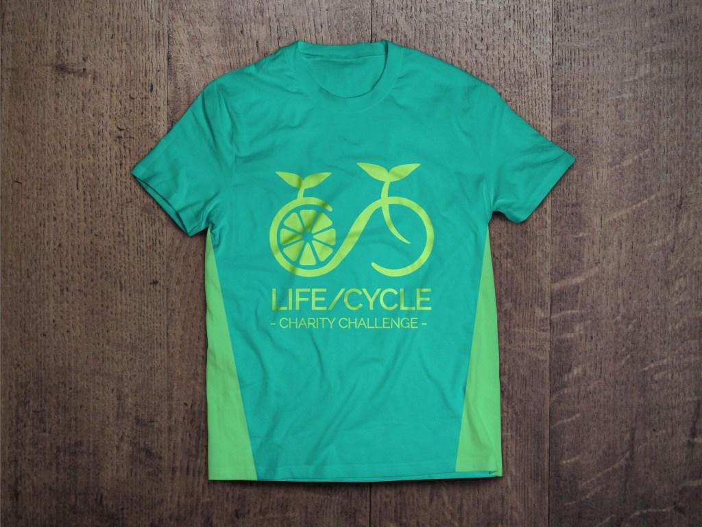 Titain Sports event branding t shirt