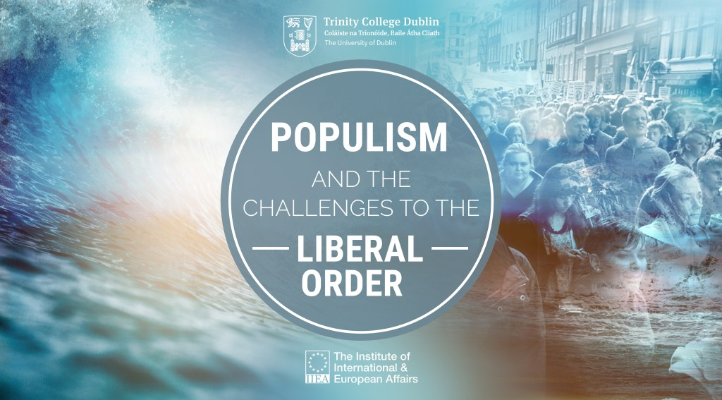 Branding for the IIEA and Trinity College Dublin's Populism event series
