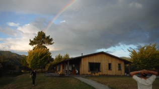 Our home for four days... At the end of the rainbow