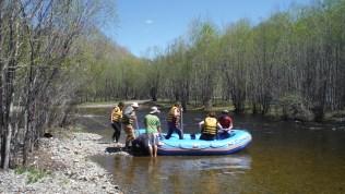 Rafting on (I think) Terelj river
