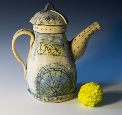 Teapot from a Slab of Clay