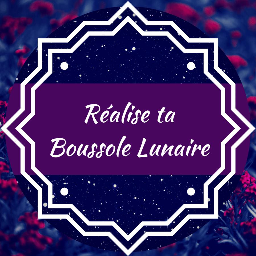 Réalise ta Boussole Lunaire 4